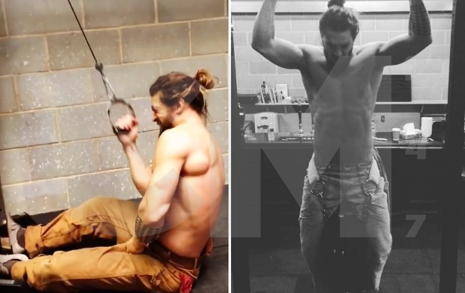 Jason Momoa Workout Has The Hulk Blown Away