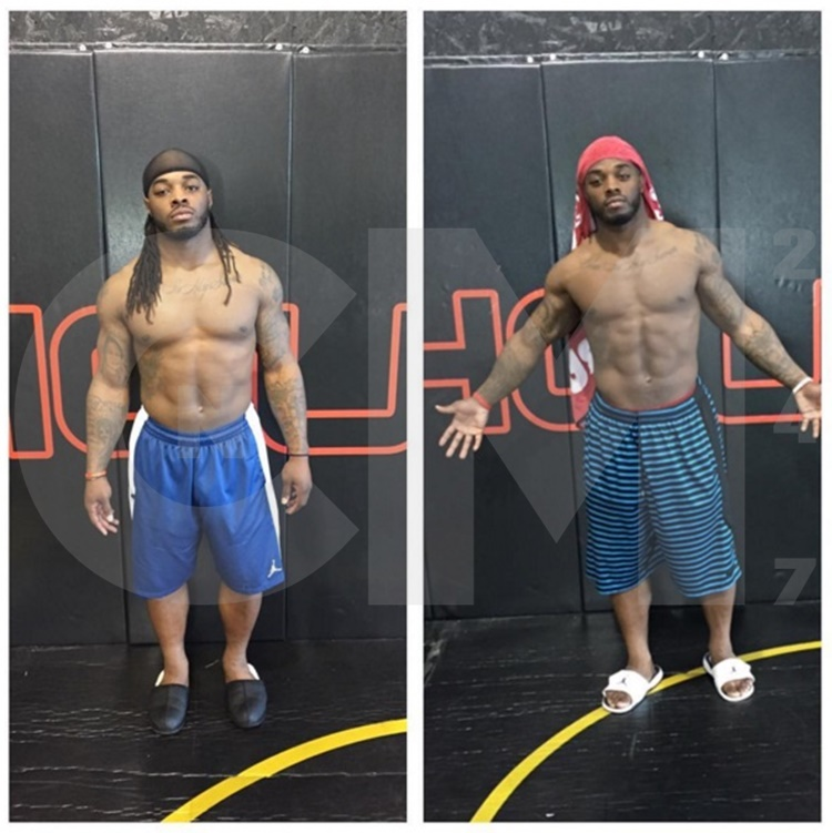 Trent Richardson abs