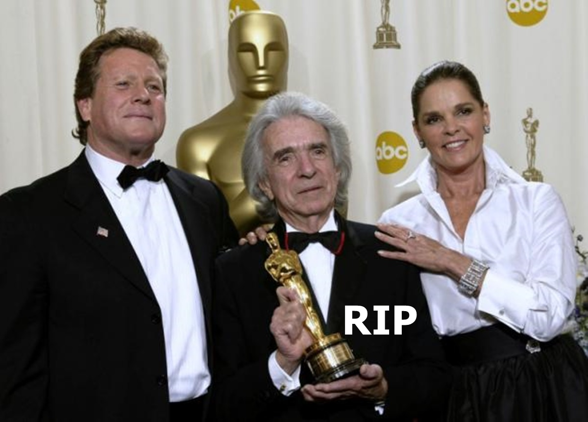 Love Story Director Arthur Hiller Has Died