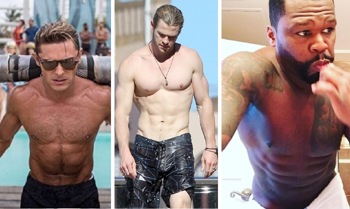 The Top 15 Celeb Abs For 2016