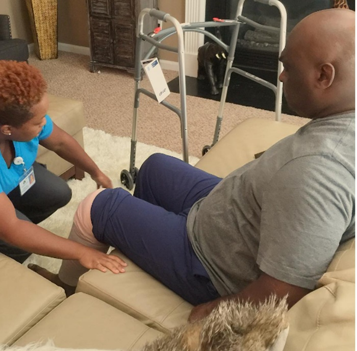Martin Actor Tommy Ford on Life Support Post Knee Surgery