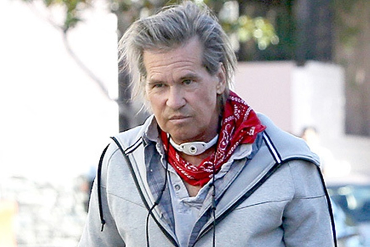 Val Kilmer Struggling with Oral Cancer