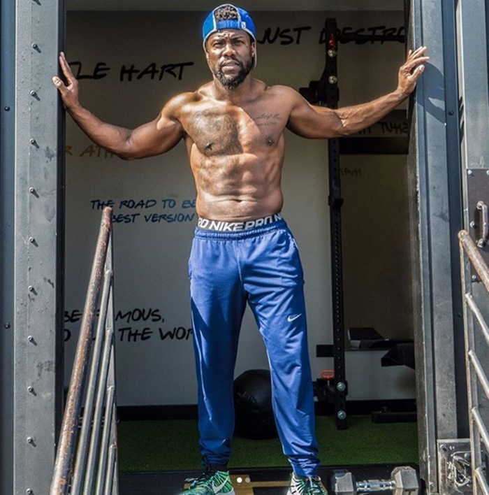 Kevin Hart Transforms Flab into Fantastic Abs