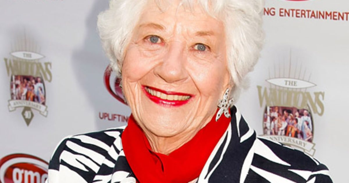 'Facts Of Life' Star Charlotte Rae Talks Cancer Diagnosis
