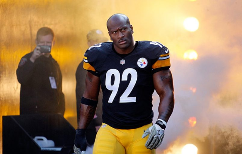 James Harrison Extreme Linebacker Workout