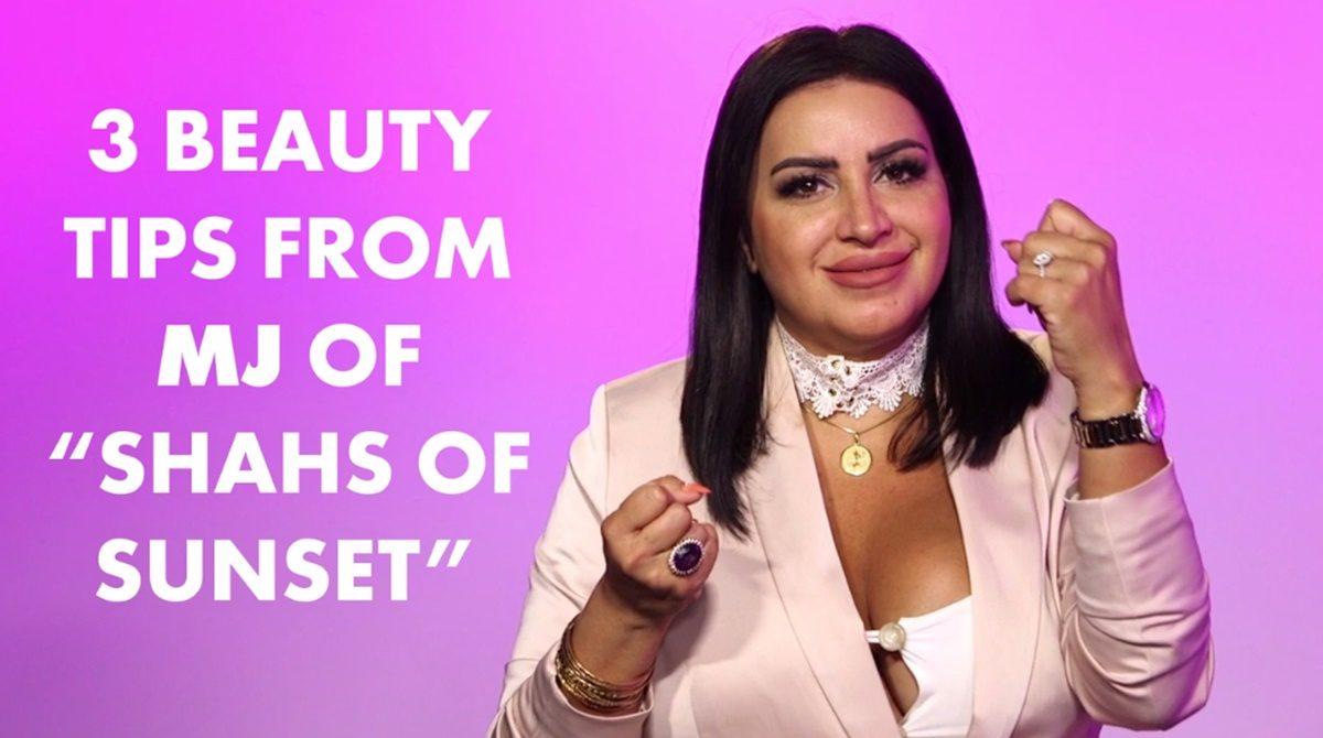 Shahs of Sunset Star MJ on Butter and Anal Bleaching