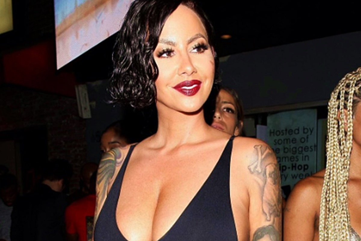 Amber Rose Thinking About A Breast Reduction