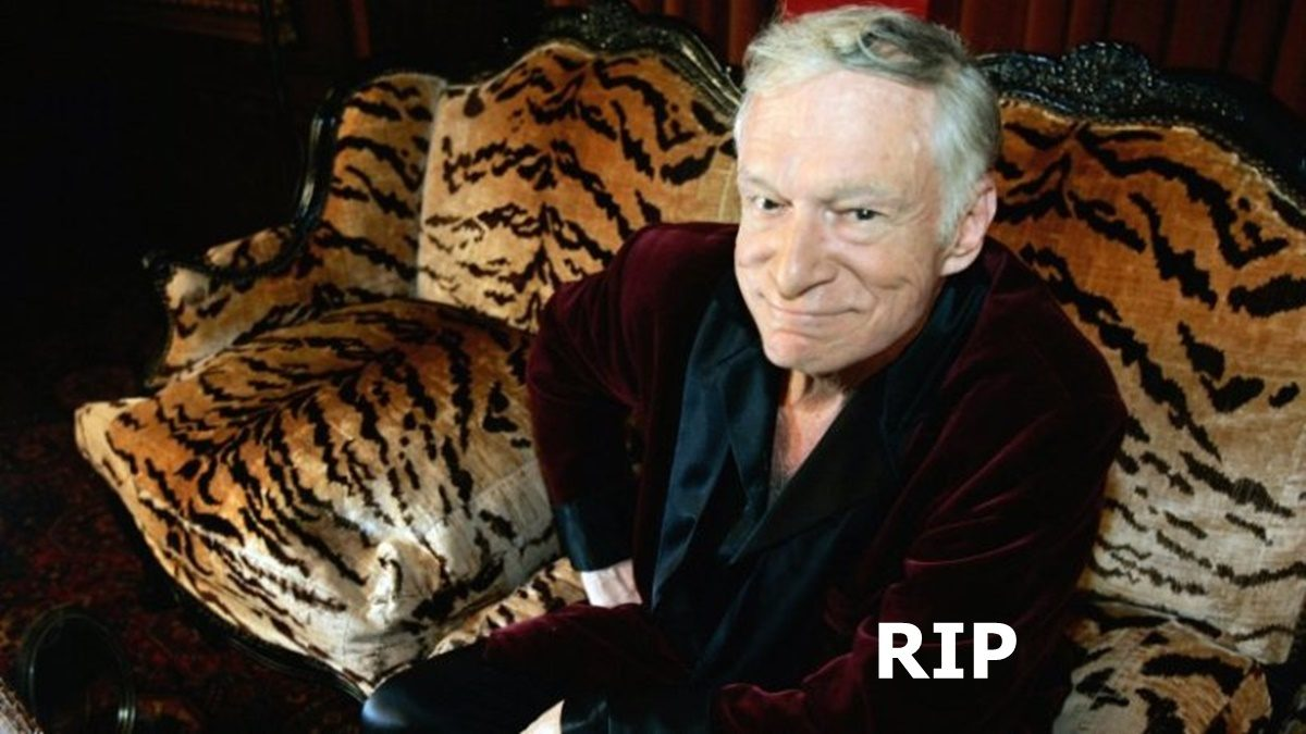 Playboy's Hugh Hefner Dead at Age 91