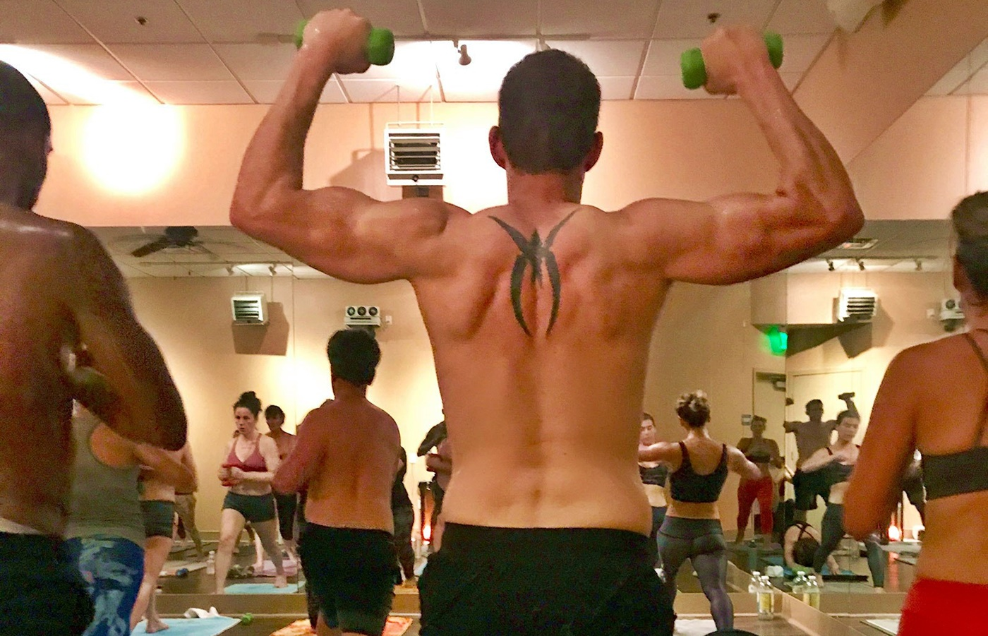 Flip & Flop Star Tarek El Moussa Finds Strength in Hot Yoga