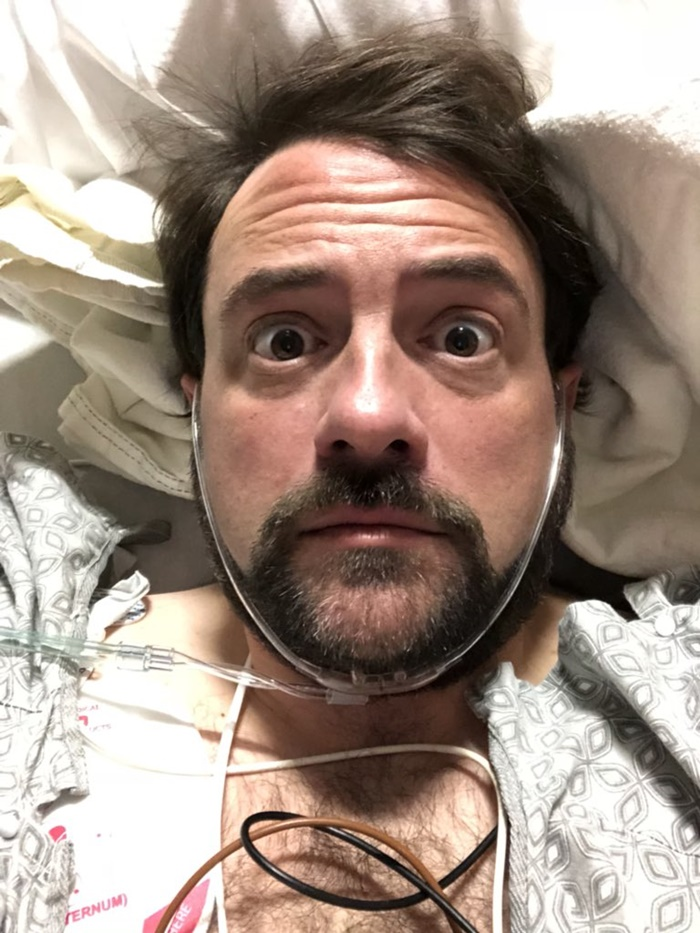 #OMG Kevin Smith Has Massive Heart Attack, and Tweet About It