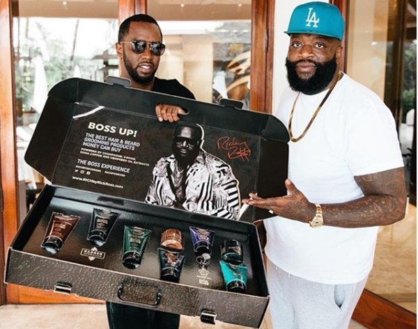 Time to #Bossup with Rick Ross' RICH HAIR CARE