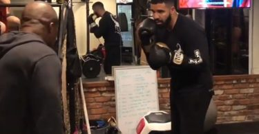 Drake Boxing with Pro Boxer + Trainer Hino Ehikhamenor