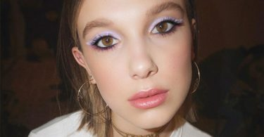 The Key to Millie Bobby Brown's Puuur-fect Lavender Cat Eye