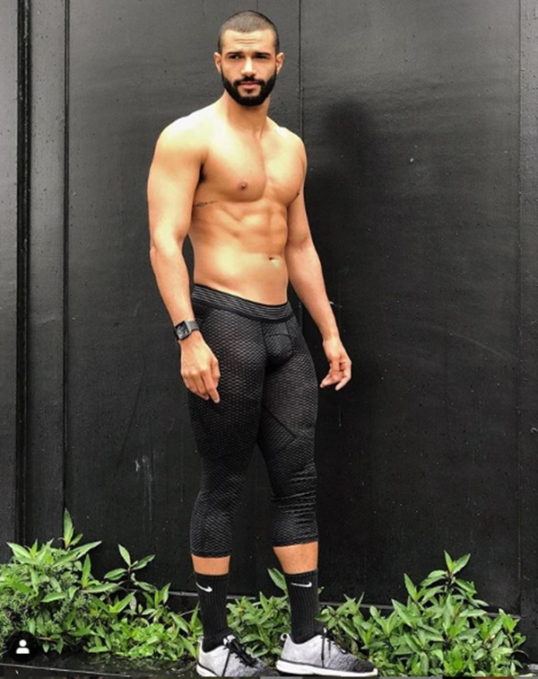 Meet Scary Spice Hunk Trainer Donald Dromain