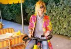 Selma Blair Gets Mobility Bike Amid MS Battle
