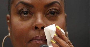 Taraji P Henson Emotional Speaking on Mental Heath