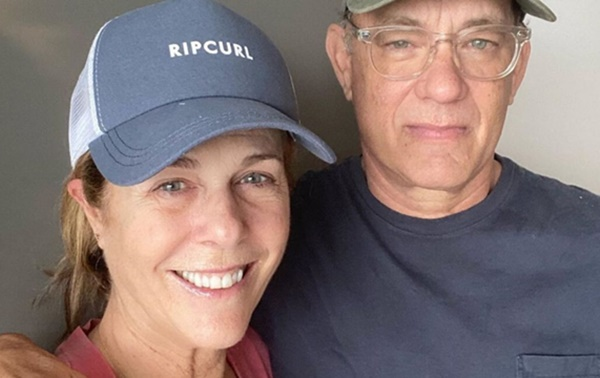 "Tom Hanks Updates Fans After Testing Positive ""Symptoms Are The Same"""