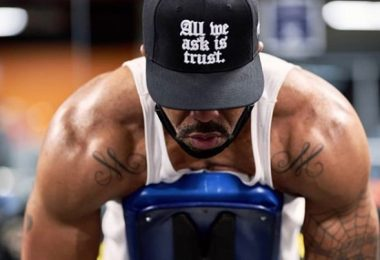 Method Man Workout + His Muscled Body For Power Book II: Ghost